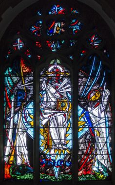 East window, St Michael's church, Marden, Kent