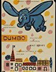 #1: Unframed canvas prit poster Dumbo Movie Polish Style A Sterling HollowayEdward BrophyVerna FeltonHerman BingCliff Edwards 24x36inch(60x90cm)