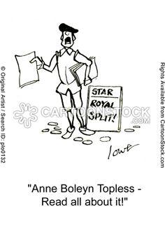 'Anne Boleyn Topless - read all about it!'