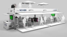 Cübb provides a Cyspace solution (Pop up store + tablets+ mobile app) for fashion brand Kiabi