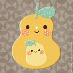 pears | flora chang, Happy Doodle Land