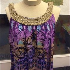 New Directions dress top. XL Gorgeous New Directions top. Size xl. Long... Could be worn as a tunic. Excellent condition. 95% polyester 5% spandex. 20% off bundles of three or more so have fun shopping!❤️❤️❤️ new directions Tops Tunics