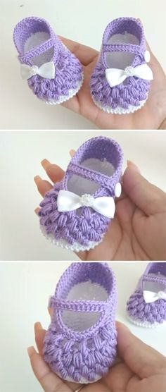 45 Ideas Crochet Shoes Pattern Tutorials Baby Slippers For 2019 Crochet Baby Boots, Crochet Baby Sandals, Crochet Baby Clothes, Love Crochet, Crochet Yarn, Funny Crochet, Knitted Baby, Crochet Shoes Pattern, Baby Shoes Pattern
