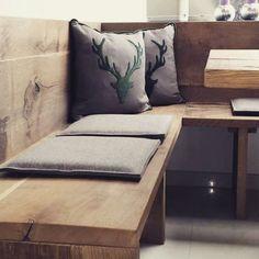 Corner Bench Oak Modern   #bench #corner #Modern #oak
