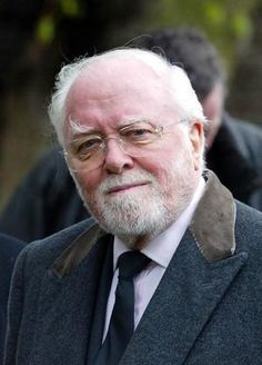 Sir Richard Attenborough (1923-2014) The Great Escape, John Hammond of Jurassic Park films, the man behind the film Ghandi.