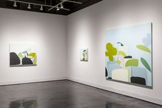 Exhibition of paintings by Canadian artist Louise Belcourt on view at Locks Gallery