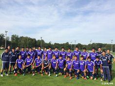 U-19日本代表 フランスとの国際親善試合第2戦に向けてトレーニングを実施 http://www.jfa.jp/national_team/u19_2016/news/00010870/