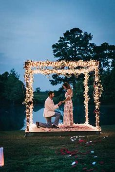 romantic proposal ideas with lightsYou can find Wedding proposals and more on our website.romantic proposal ideas with lights Romantic Proposal, Perfect Proposal, Beach Proposal, Wedding Proposals, Marriage Proposals, Perfect Wedding, Dream Wedding, Wedding Day, Wedding Tips