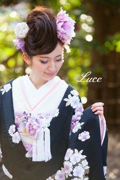 和装weddingに♡可愛い打掛とヘアアレンジCOLLECTION♡にて紹介している画像