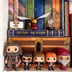MY HARRY POTTER FUNKOS ARE ALL HERE! •  #harrypotter #hp #hagrid #rubeushagrid…