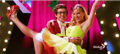 I'm slightly obsessed with Glee. I love Artie especially when he sings and Brittany is my favorite character.