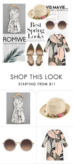 """romwe"" by elaa-j1 ❤ liked on Polyvore featuring H&M, Victoria Beckham, Joe Browns, Linda Farrow, Max&Co. and Roberto Vianni"