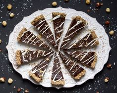 Chilled Chocolate-Espresso Torte with Toasted Hazelnut Crust from the Oh She Glows Cookbook and Interview with Angela Liddon | Choosing Raw – vegan and raw recipes