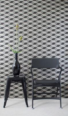 Geometric Wallpaper from Ferm Living
