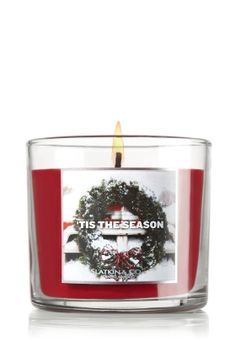 tis the season bath and body works candle, the perfect cinnamon Christmas scent (: