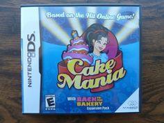 #CAKEMANIA ( 2007 #Nintendo #DS #VideoGames ) Complete + Case Manual #NDS MINT   http://r.ebay.com/r0TF9A @eBay #makeanoffer #sale #majesco