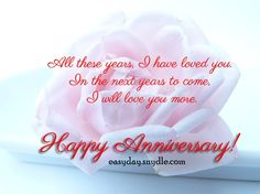 Wedding Anniversary Messages, Wishes and Quotes !!!