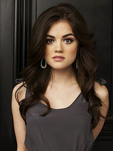 Aria Montgomery from Pretty Little Liars - her hair!!!