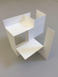 Conceptual Model Architecture, Architecture Concept Diagram, Paper Architecture, School Architecture, Architecture Design, Cubes, Discount Interior Doors, Arch Model, 3d Studio