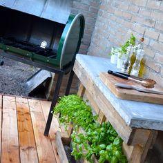 Outdoor Kitchen bbq garden
