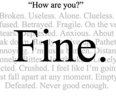 What my fine really means...
