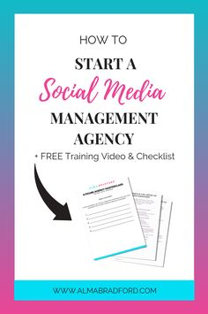 Ever wanted to know how to start a social media marketing agency? This article will explain the steps involved in getting started.  #socialmedia #onlinebusiness #workfromhome
