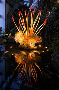 Dale Chihuly . Franklin Park Conservatory in Columbus Ohio