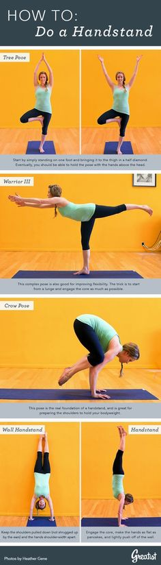 So You Want to Do a Handstand | Fit Villas