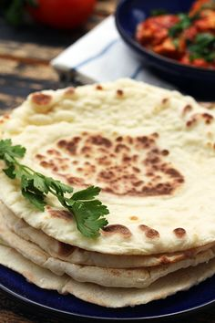 Naan / nan bread indian food