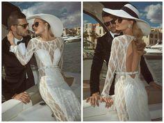 Cortes incríveis em modelos irresistíveis de vestido de noivas na coleção 2014 de Tal Kahlon
