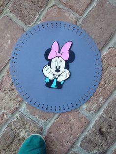 Minnie Mouse birthday cricut