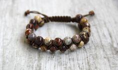 Shamballa bracelet yoga bracelet macrame by AllAboutHandmade1