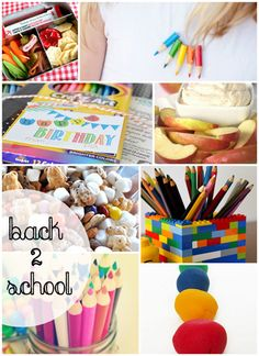 Great back to school projects and snack ideas - Rae Gun Ramblings