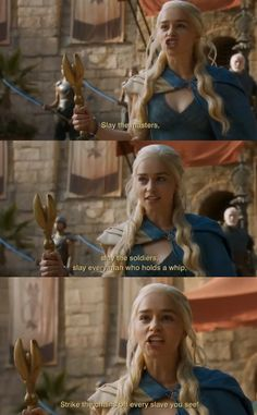 "And she's basically like, ""Yeah, I'm in charge now, you better recognize."" 