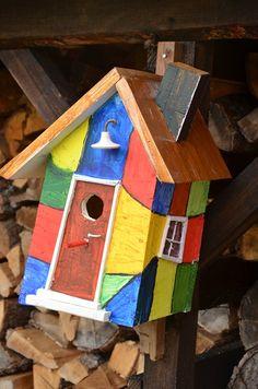 Vogelhotel a la Hundertwasser