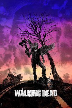 The Walking Dead: Darylby Daniel Norris - @DanKNorris on Twitter......... !!!!