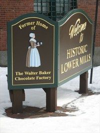Lower Mills - Former Home of the Walter Baker Chocolate Factory - Boston-Milton, MA Lyle Mays, Bakers Chocolate, Walter Baker, Chocolate Factory, Silent Film, Growing Up, Cocoa, Roots, Boston