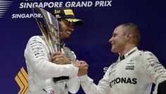Senna helped me to shock win says Hamilton   Hamilton started fifth on a rain-hit grid but he led almost from the outset when both Ferraris and Red Bull's Max Verstappen crashed out just after the start.  SINGAPORE: Lewis Hamilton said he felt like the spirit of Ayrton Senna guided him to a shock win in the Singapore Grand Prix as he significantly boosted his world title chances on Sunday.  Hamilton said he thought about the late Brazilians infamous mistake at Monaco 1988  when Senna crashed…