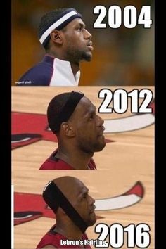 LeBron James' Hairline   The Best Sports Memes Of 2012
