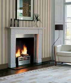 The Ormonde Fireplace by Jane Churchill for Chesneys