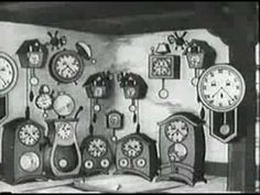 "Disney's Silly Symphony: ""The Clock Store"" (1931). Great musicality and shenanigans. #CartoonTherapy goes B this week."