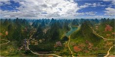 Photogallery   Guilin National Park   360° Aerial Panoramas, 3D Virtual Tours Around the World, Photos of the Most Interesting Places on the Earth