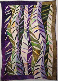 'Willow' by Karen Eikemeier, www.quilted-lizar...  A-MAZ-ING