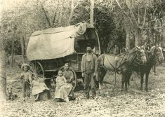 Fred Pearson and Family, Johnson County, Kansas  1908