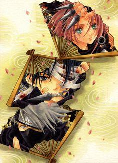 Sakura & Sasuke & Kakashi