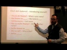 ▶ PA Dutch 101: Video 2 - Greetings and Introductions.m4v - YouTube