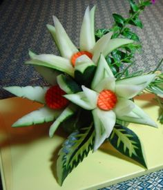 Thai Carving Fruits #provestra