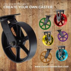 Create Your Own Vintage Caster - Version 2
