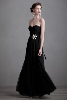 black elegant wedding dresses