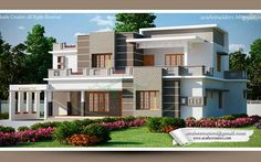 Modern Flat #Kerala style Roof #Home desingn from Kerala House Planners (Acube) @ 2400 Sq-ft Ground Floor - 1702 Sq.Ft Porch Sit out Drawing Courtyard Dining Bed room -2 Attached Dress & Bath room - 2 Common Toilet - 1 Kitchen Work Area Store First Floor - 698 Sq.Ft Upper Living Bed room - 1 Attached Bath room - 1 Balcony Total : 2400 Sq.ft
